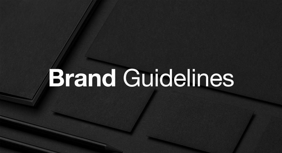 ビジネスに効率化をもたらすブランドガイドラインの基本構造